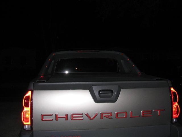 Chevrolet Avalanche Sail Panel Light Install