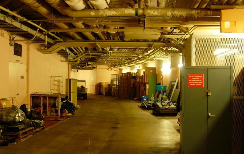 Disney Underground Tunnel Tour